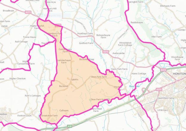 buckerell-parishmap